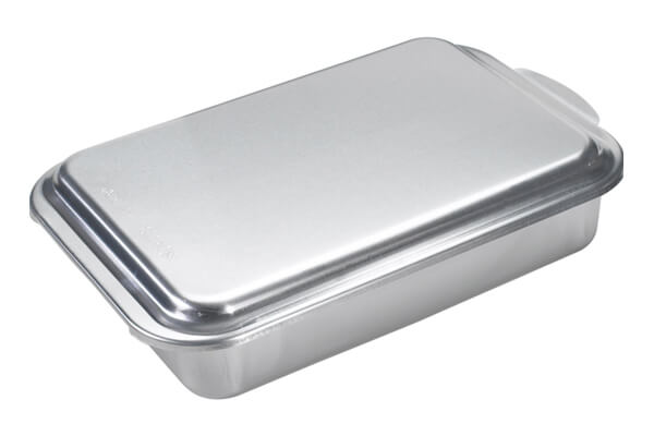 Nordic Ware Classic Metal 9x13 Covered Cake Pan ($12.18)