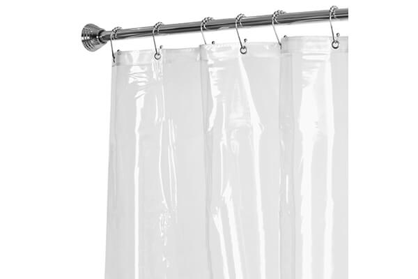 Shower Curtain with Proof Metal Grommets - $11.90