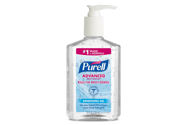PURELL 9652 Advanced Instant Hand Sanitizer, 8 Ounce Pump Bottle (Pack of 12) ($35.10 & FREE Shipping)