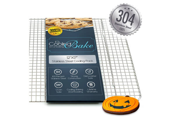 CoolingBake 304 Stainless Steel Wire Cooling Rack ($22.97)
