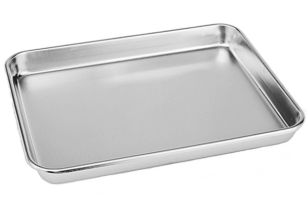 Neeshow Stainless Steel Compact Toaster Oven Pan Tray Ovenware Professional