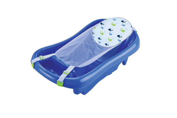 The First Years Infant To Toddler Tub, Blue