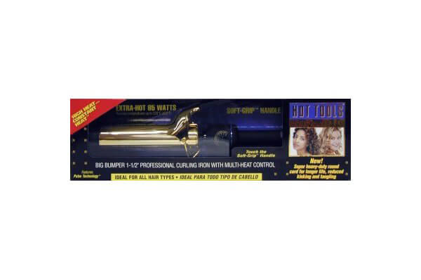 Hot Tools Big Bumper Spring Curling Iron, 1-1/2""