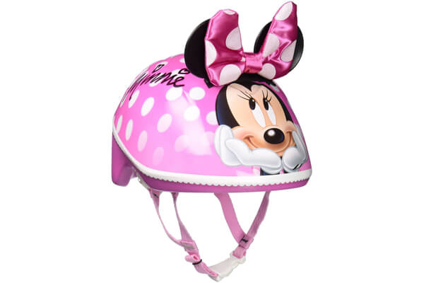 Bell Toddler 3D Minnie Me Bike Helmet