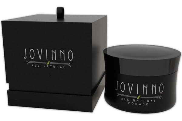 Jovinno Premium Natural Hair Styling Pomade- Medium/Strong, Non- Greasy Water Soluble