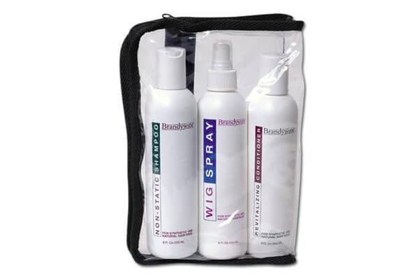 Brandywine Maintenance Kit, Non-Static Shampoo, Revitalizing Conditioner & Wig Spray 8 oz. Each