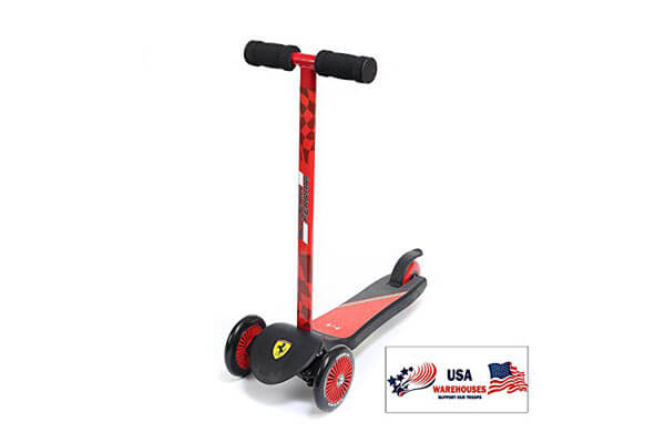 Ferrari 2 and 3 Wheel Scooter For Kids And Teens