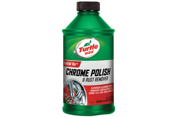 Turtle Chrome Polish & Rust Remover