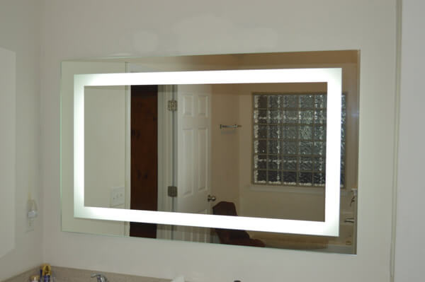 Lighted Vanity Mirror LED Commercial Grade
