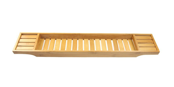 LNC Bamboo Bathtub Caddy