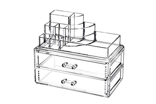 Makeup Cosmetics Organizer 2 Drawers