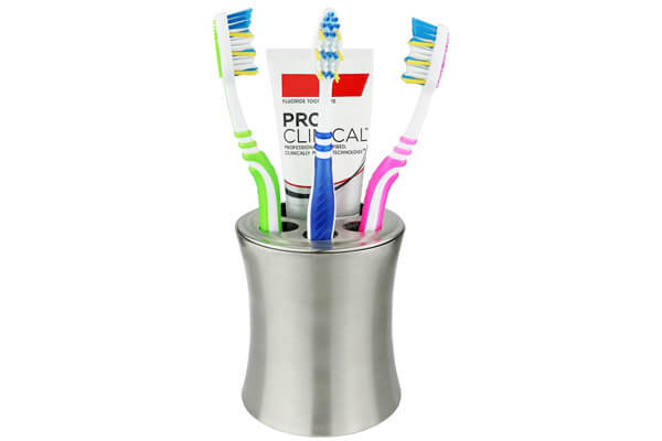 Greenco Stainless Steel Toothbrush Holder