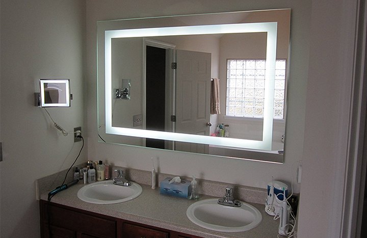 tall bathroom mirrors top 10 best lighted vanity mirrors of all time reviews 14613