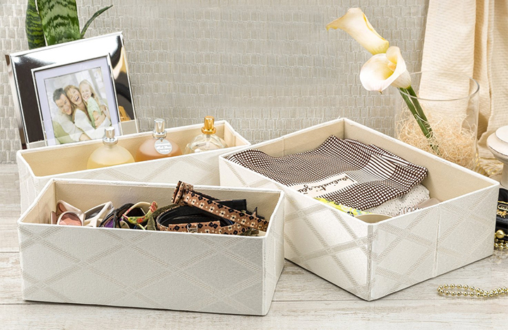 Top 10 Best Storage Baskets for Shelves of 2018 Review