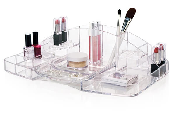 Large Capacity Cosmetic Storage and Makeup Organizer