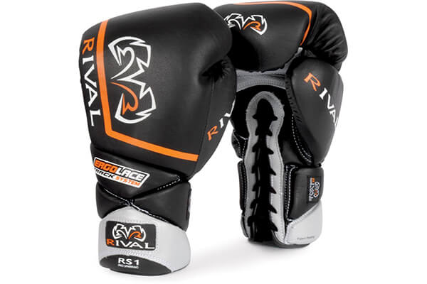 Rival High Performance Lace-Up Pro Sparring Gloves