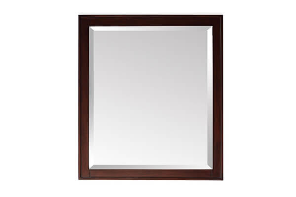 Madison Mirror in Light Espresso Finish