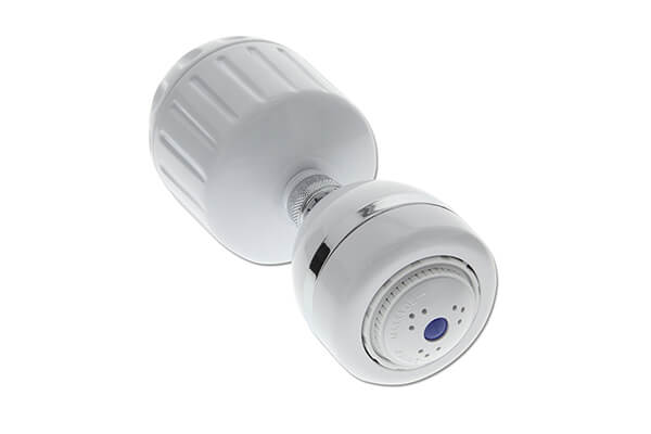 Sprite HO2-WH-M Universal Shower Filter and 3 Setting Shower Head In White