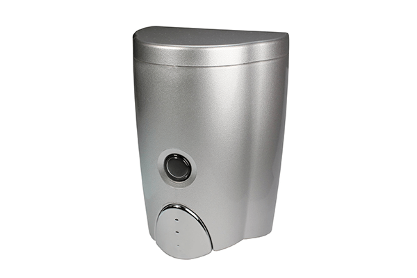 Simply Silver Wall-Mount Soap Dispenser (20oz)
