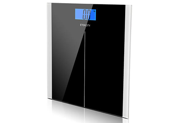 Etekcity Digital Body Weight Bathroom Scale in Black