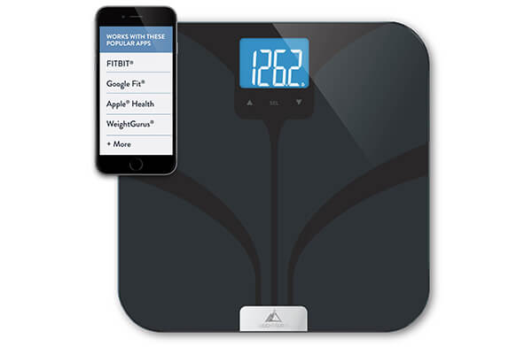 Greater Goods Weight Gurus Bluetooth Smart Connected Body Fat Scale
