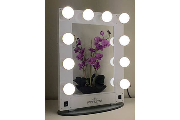 Impressions Vanity KW-GLAM Hollywood Glam Vanity Mirror