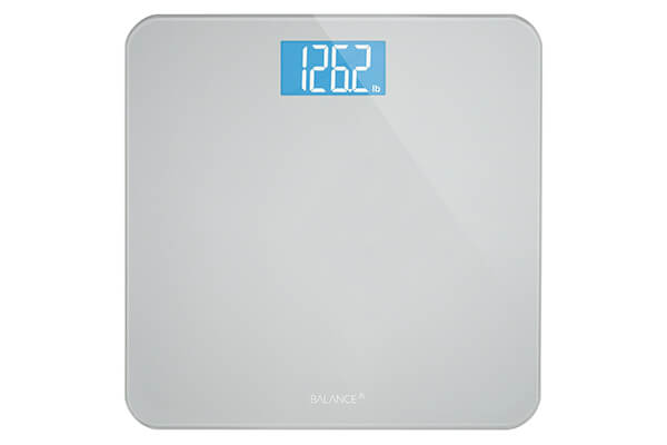 Greater Goods Balance High Accuracy Bathroom Scale with Easy-to-Read Backlit LCD