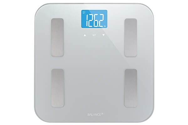 Greater Goods Brand Balance High Accuracy Body Fat Scale with Easy-to-Read Backlit LCD and 5-Year Warranty