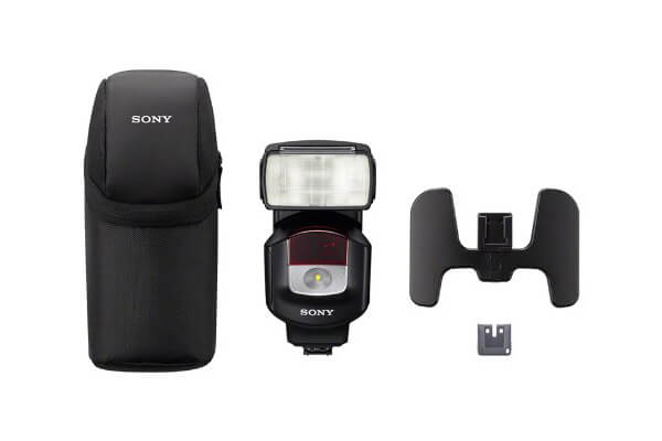Sony HVLF43M High Power Flash with Quick Shift Bounce (Black)