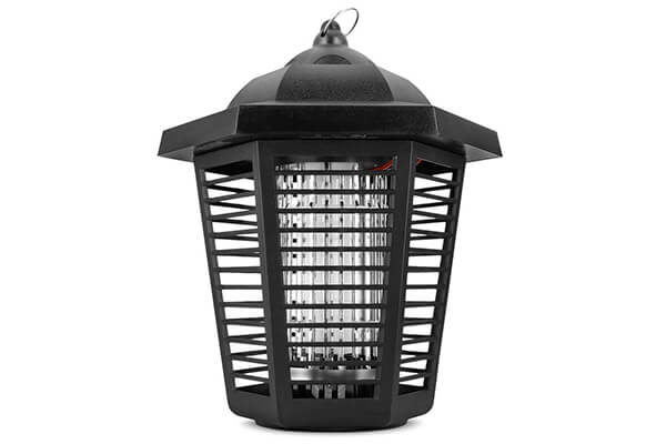 Sandalwood Electric Bug Zapper - Water Resistant Indoor and Outdoor Lantern