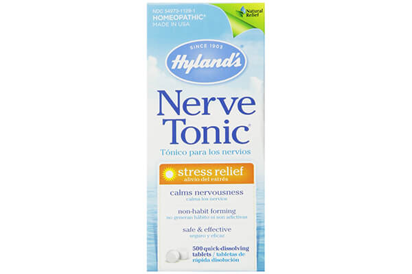 Hyland's Nerve Tonic Stress Relief Tablets, Natural Stress Relief, 500 Count
