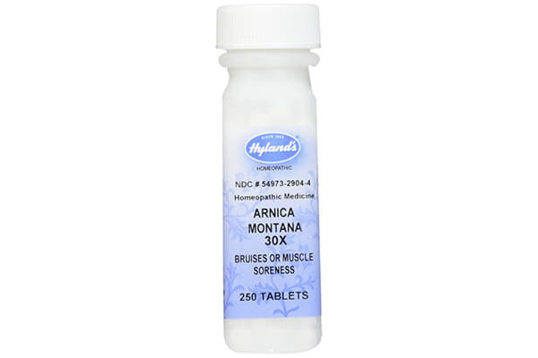 Arnica Montana 30X (Bruises & Muscle Soreness) Hylands 250 Tabs