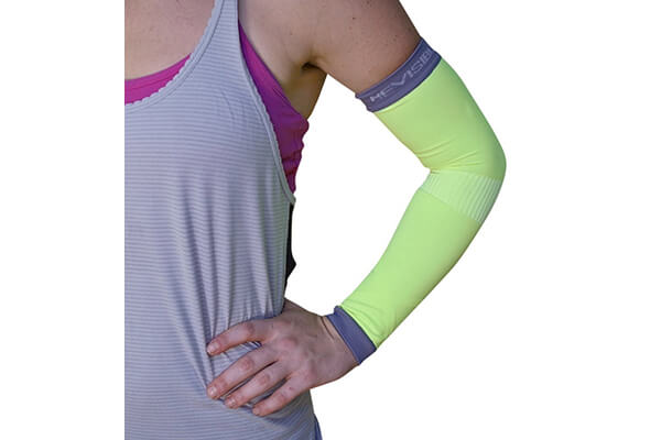 Compression Arm Sleeves - BeVisible Sports - Best Arm Support For Men Women and Youth