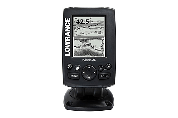 Lowrance Mark-4 Chirp Fishfinder/Chartplotter with 83/200 KHz Transom Mount Transducer