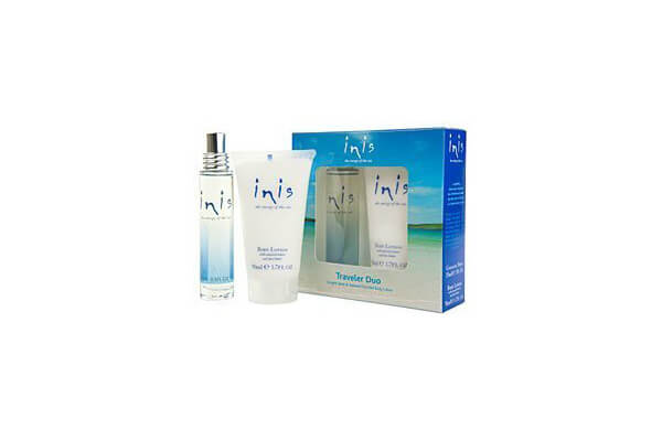 Inis the Energy of the Sea Cologne and Body Lotion Traveler Duo