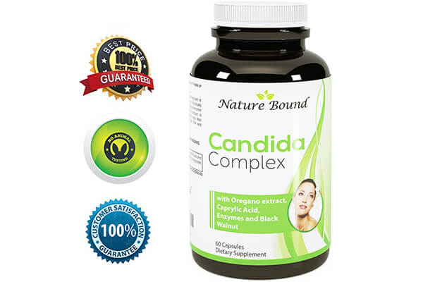 Pure Candida Cleanse + Caprylic Acid & Oregano Extract
