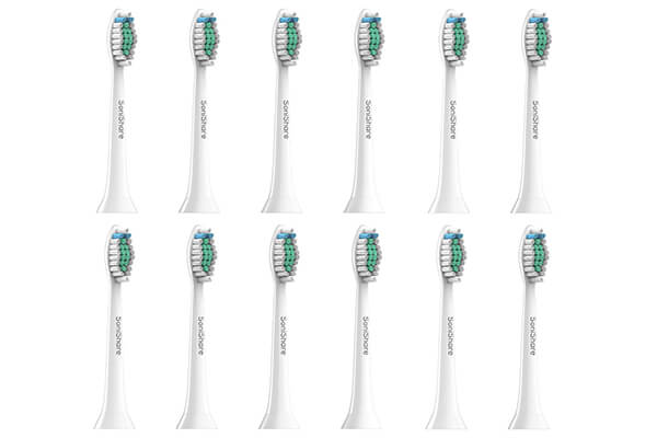 SoniShare Premium Replacement Toothbrush Heads for Philips Sonicare Diamond Clean