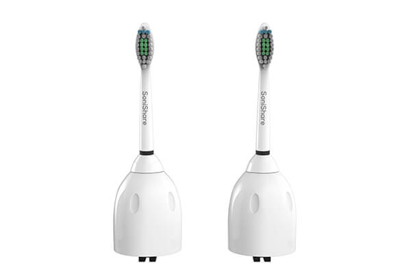SoniShare Premium Replacement Toothbrush Heads for Philips Sonicare E-Series