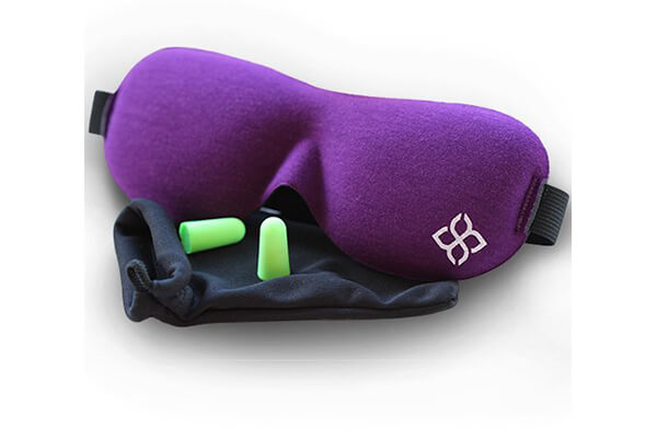 Bedtime Bliss® Contoured & Comfortable Sleep Mask & Moldex® Ear Plugs