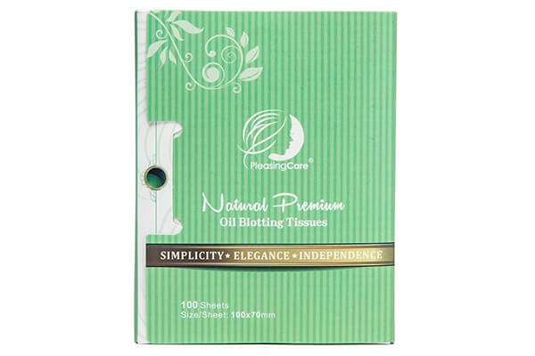 Natural Green Tea Oil Absorbing Tissues