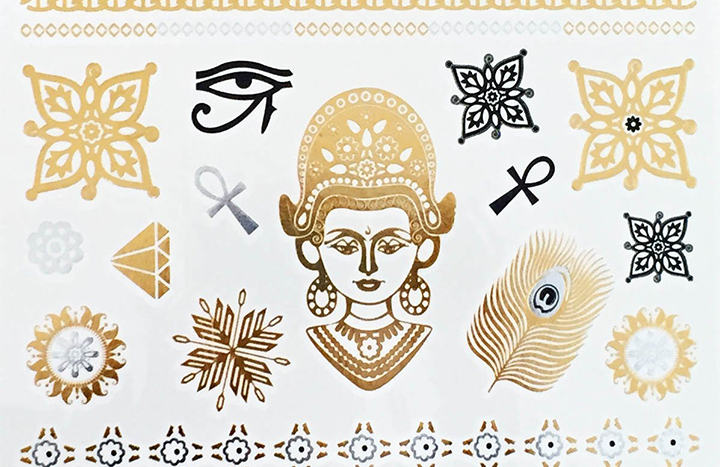 Top 10 Best Custom Temporary Tattoos of 2018 Review