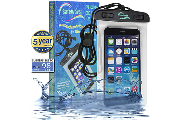 SafeWays Waterproof Seal Case Compatible With All iPhone Models