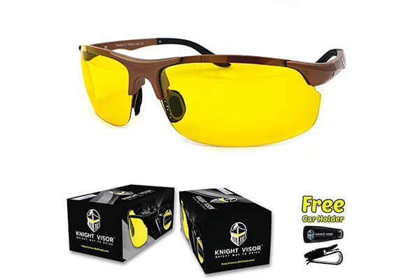 Knight Visor Polarized Night Vision Glasses