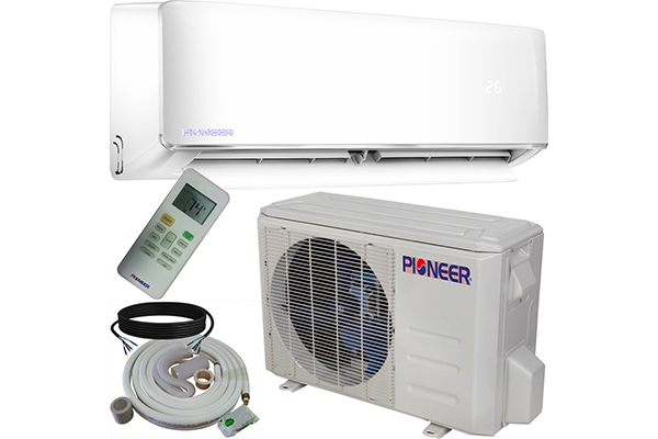 Pioneer Air Conditioner Inverter+ Ductless Wall Mount Mini Split System Air Conditioner