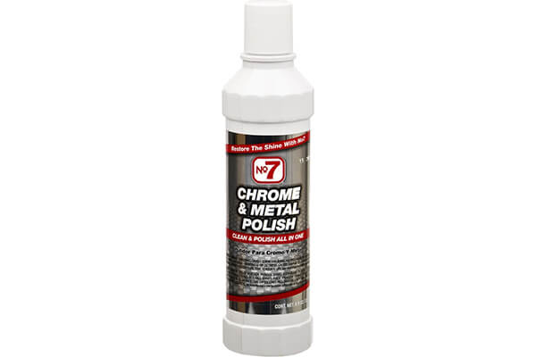 No7 10120 Chrome & Metal Polish