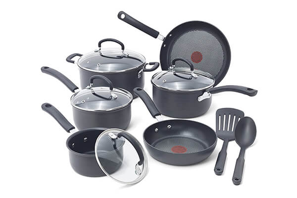 T-fal E765SC Ultimate Cookware Set