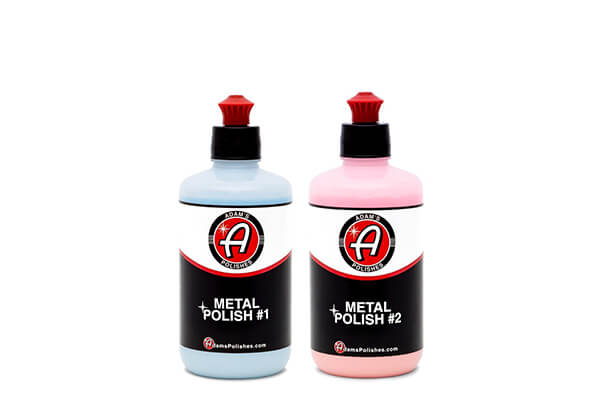 Adam's Metal Polish 1 & 2 Combo