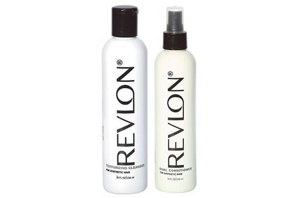 Revlon Texturizing Cleanser & Revitalizing Conditioner for Synthetic Hair & Wigs