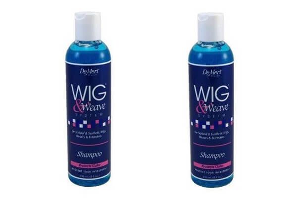 DeMert Wig & Weave System Shampoo for Natural and Synthetic Hair (2 Pack of 8 oz)