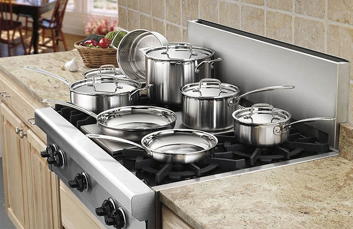 Top 10 Best Kitchen Cookware Sets of 2018 Review